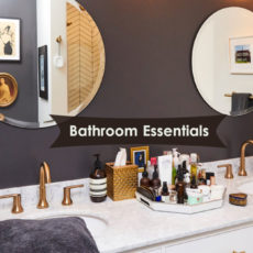 Top 7 Bathroom Essentials Checklist that Every Home Requires