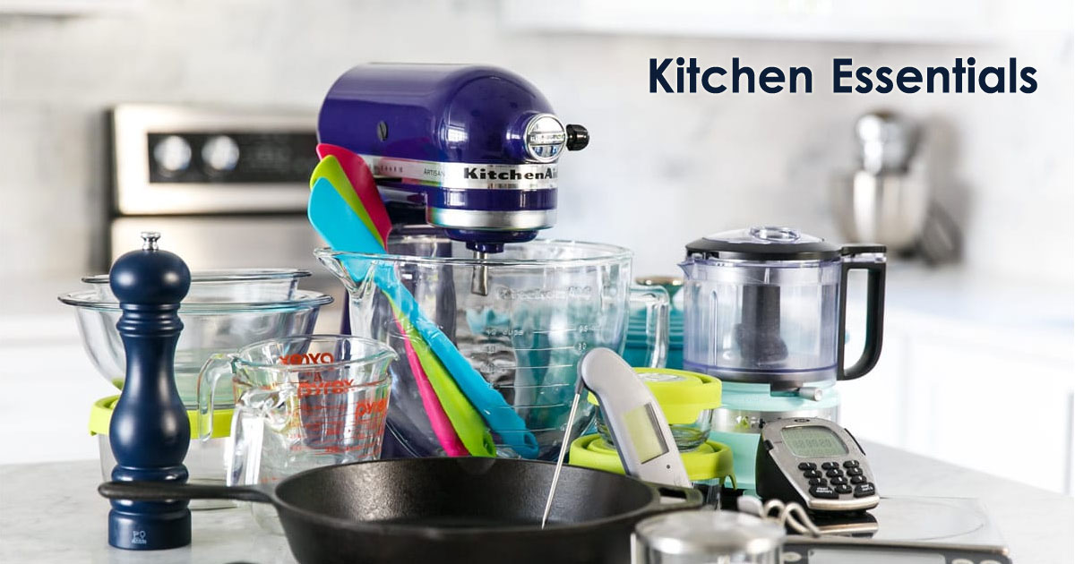 Important Kitchen Appliances for Every Home Cook